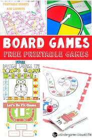 Free Printable Childrens Pictures Best Crafts Ideas On Glue D Board Games Kids Game Template