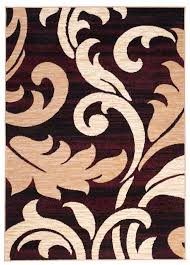 teppich galerie teppich wohnzimmer braun modern s