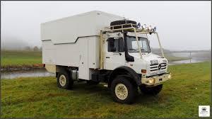 100 Expedition Trucks Unimog U2450 4x4 Truck With Lift Roof Desert Ready