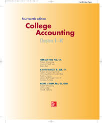 Mcgraw Hill Connect Desk Copy Request by College Accounting Novella Mcgraw Hill Higher Education