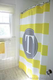 Yellow And Gray Chevron Bathroom Accessories by Kids U0027 Bathroom Remodel