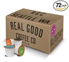 Real Good Coffee Co Recyclable K Cups Variety Pack For Keurig Cup