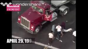 100 La Riots Truck Driver LA Riot Brutal Truck Driver Beat Down Coub GIFs With Sound