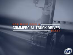 How Much Does A Commercial Truck Driver Make?