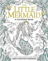 The Little Mermaid A Coloring Book