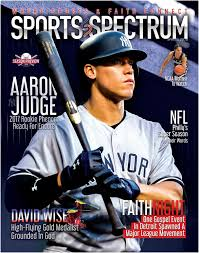 Sports Spectrum Aaron Judge Spring 2018 Edition By