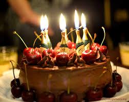 Fancy Chocolate Birthday Cake 1