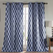 Navy Blue Chevron Curtains Walmart by Curtains Luxury Interior Decorating Ideas With Cool Eclipse