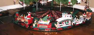 A Christmas Train Rekindles Boyhood Dreams Sets To Go Around Trees