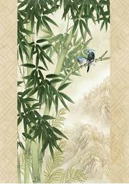 Big Ang Mural Forest Ave by Diseño 3 D Gran Sala De Estar Del Dormitorio Sala De Bambú