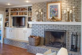 100 Brick Walls In Homes 32 Ways To Refresh A Fireplace