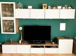 wohnwand weiß ikea wohnzimmer ebay kleinanzeigen