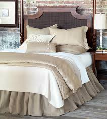 Luxury Bedding by Eastern Accents Rustique Burlap Collection