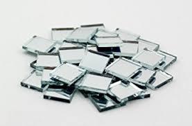 0 5 inch glass craft mini square mirrors bulk 100