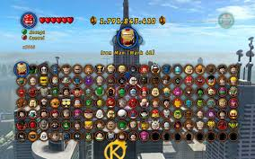 That Sinking Feeling Lego Marvel Stan Lee by Superheroes And Archvillains Characters To Unlock Lego Marvel
