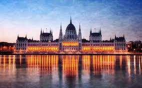 Download Wallpaper 3840x2400 Hungary Budapest Night Parliament