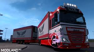 100 What Is A Tandem Truck Daf XF Euro 6 133x Mod For ETS 2