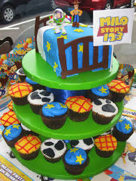 Toy Story Cupcakes Tower For Charlotte D Bday