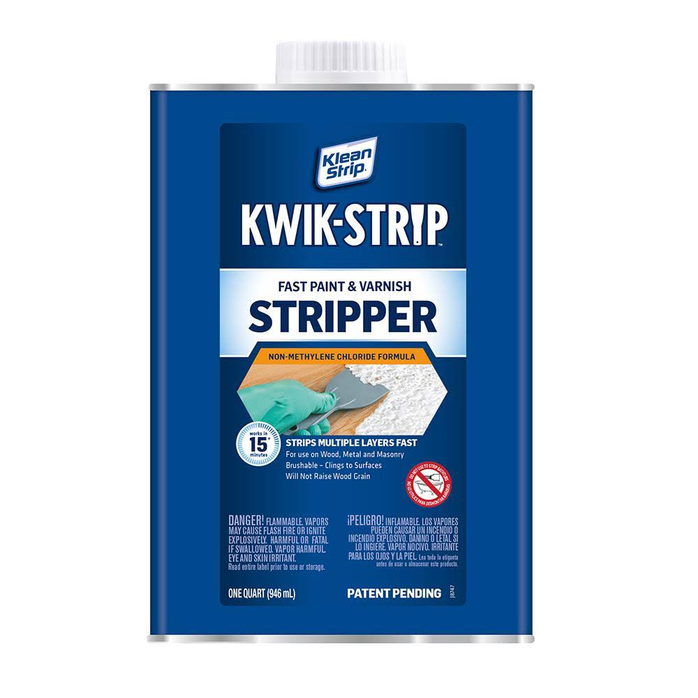 Klean Strip Kwik Paint and Varnish Stripper - 1qt
