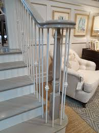 My Notting Hill: What About A Gray Banister? | With More Time And ... Stair Banisters And Railings Design Of Your House Its Good Best 25 Railing Ideas On Pinterest Banister Staircase With White Accents Black Metal Spindles Shoes 132 Best Rails Images Stairs Banisters Stairway Wrought Iron Balusters Custom Simple Handrails For Your And Railings Install John Robinson House Decor How To Paint An Oak Stair Interior Ideas Railing Kitchen Design Electoral7com Metal Spindlesmodern 49 For Code Nys