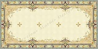 French Montana Marble Floors by Marble Floor Design Water Jet Cut Marble Floor Design For