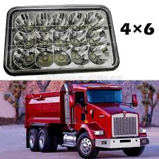 Good Sales Semi-truck Led 4x6inch With Drl,4x6 Truck Headlight ... 5x Led Semi Truck Roof Cab Marker Clearance Light Assembly Amber Interior Led Lights Led Lights 2 Inch Round Kenworth Install Youtube Freightliner Peterbilt Western Star 4x6 Chrome Big Rig Shop Lighting And Best For Trucks And 10 Collection Penske Installing Trucklite Headlights On 5000 Rental Commercial Parts Ebay Bestchoiceproducts Rakuten Choice Products 12v Ride On Car