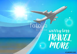 Special Offer On Business Travel Trip Banner Air Concept
