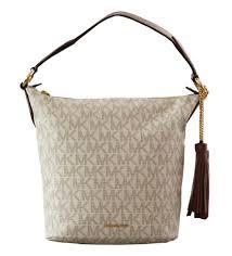 michael kors elena east west convertible vanilla tote bag on sale