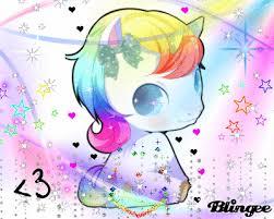 Cute Rainbow Unicorn Picture 132692047