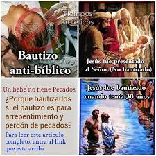 Las Verdades Reveladas De La Biblia AAA El Bautismo De