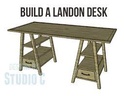 build a landon desk u2013 designs by studio c