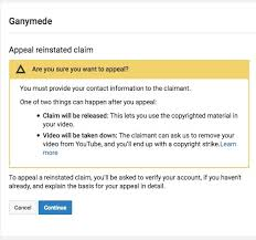 If I Appeal There Is No Option Of Keeping The Video Up Either Win And Stays Without Monetization Or It Gets Taken Down