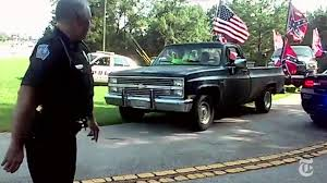 100 Rebel Flag Truck Confederate Flag Group Charged With Terroristic Threats