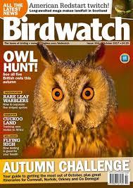 birdwatch magazine october 2017 subscriptions pocketmags