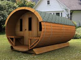 beautiful garden sheds design ideas with cylinder shaped and