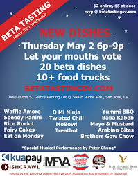 100 Food Trucks In San Jose The Blog This Thursday Beta Tasting To Benefit The Bay