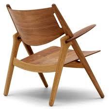 Carl Hansen & Son Wegner CH28T Sawhorse Chair All Wood Oak