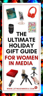 The Ultimate Holiday Gift Guide For Women In Media