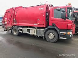 Used Scania P320DB4x4HNB Garbage Trucks / Recycling Trucks Year ...