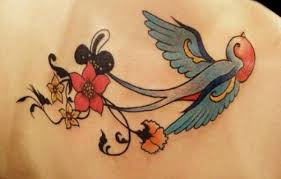 Latest Swallow Tattoos Designs 2014 4