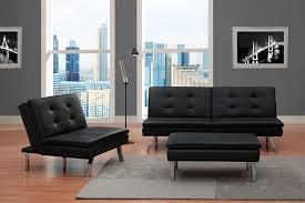 Kebo Futon Sofa Walmart by Amazon Com Dhp Chelsea Convertible Chair Kitchen U0026 Dining