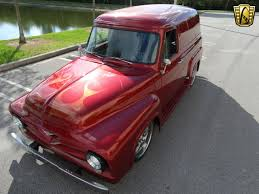 100 1955 Ford Panel Truck 20