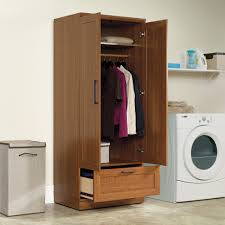 Sauder Beginnings Storage Cabinet Oregon Oak by Wardrobe Wardrobe Closet Home Decoration For Small House And