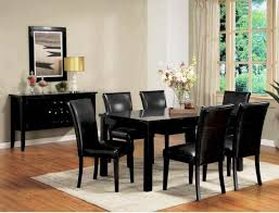 Black Lacquer Dining Room Chairs
