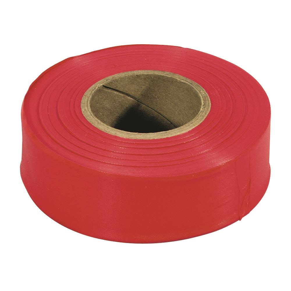 Irwin Tools Straight Line Flagging Tape - 300', Red