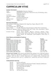 Creative Current Resume Formats Examples For Latest Sample Trends 2016 In Writing