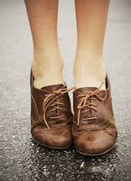 I Havw Worn Leather Oxford Shoes Much Like These How Lovely