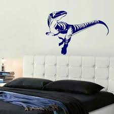 Wall Mural Decals Vinyl by Large Dinosaur Dino Childrens Bedroom Wall Mural Giant Art Sticker