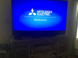 mitsubishi flat screen tv l replacement on a budget lovely at