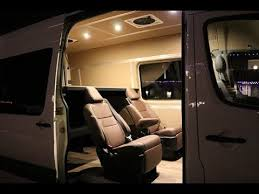 Mercedes Sprinter Custom Conversion With Adventure Wagon Kits